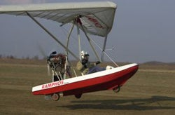 Fly, Drive or Sail with the Ramphos Amphibious Trike