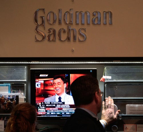 Goldman Donations to Spark Massive Cognitive Dissonance