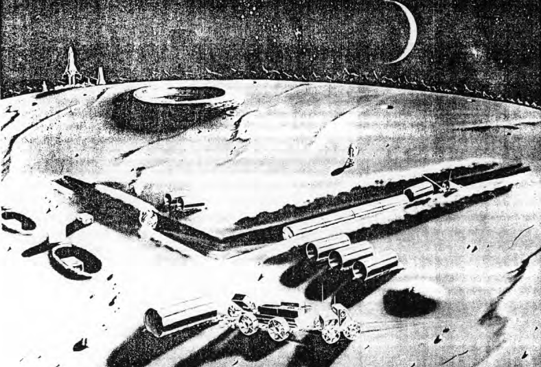 Declassified: The Government's Secret Plan For a Military Moon Base