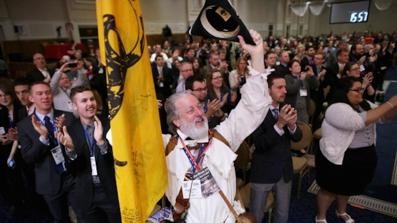 A Sea of White: Day Two at CPAC