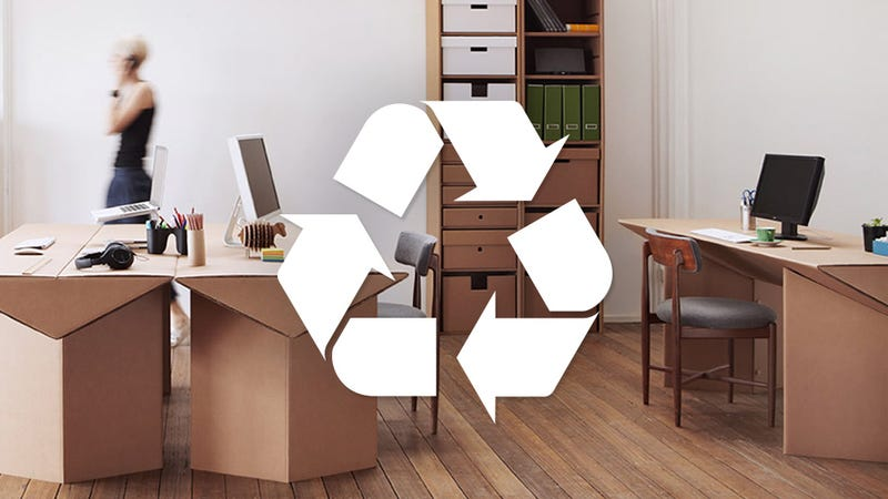 Everything You Need To Live a Cheap and Disposable Cardboard Lifestyle
