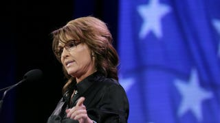 <i>Daily Show:</i> Sarah Palin's Iowa Speech Was Actual Goddamn Gibberish