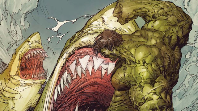 In this week's comics, the Hulk fights sharks (and other thrilling mishaps)