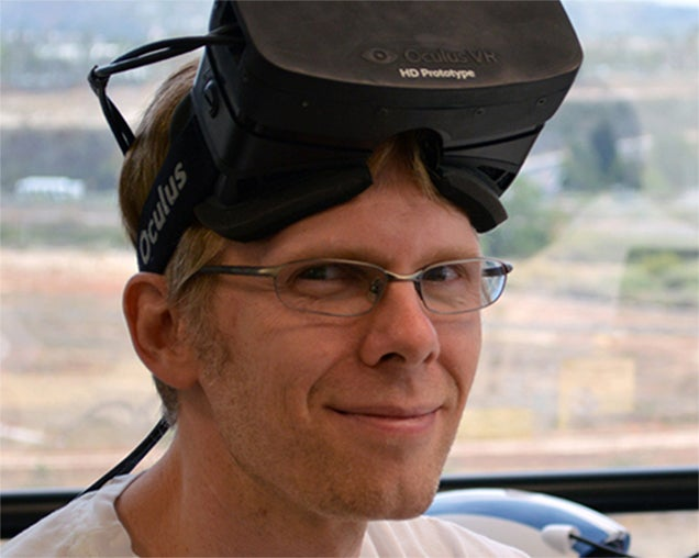 John Carmack Voices Support For Facebook's Oculus Acquisition