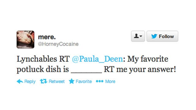 Black People Troll Paula Deen on Twitter, Hilarity Ensues