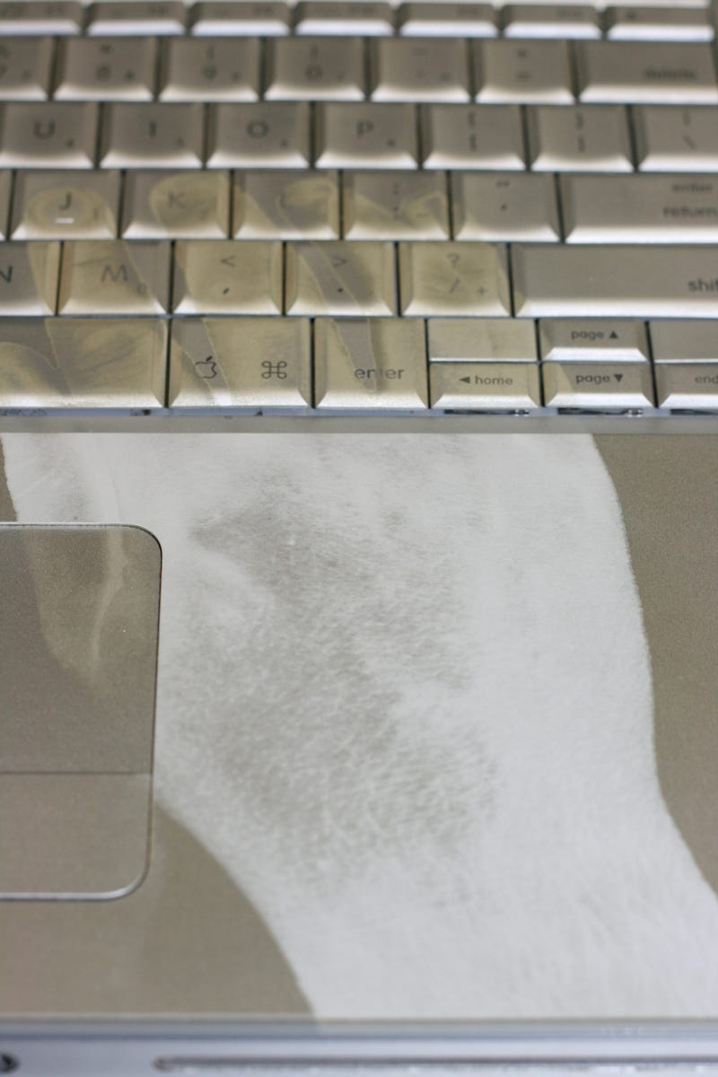 Laser-Etched Powerbook Ensures Hands Never Leave the Keyboard, Ever