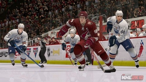 Lights Down Low for NHL 2K10