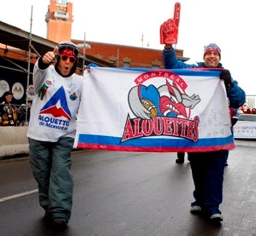 Below-Freezing Wind Chill Not Enough To Deter Grey Cup Revelers