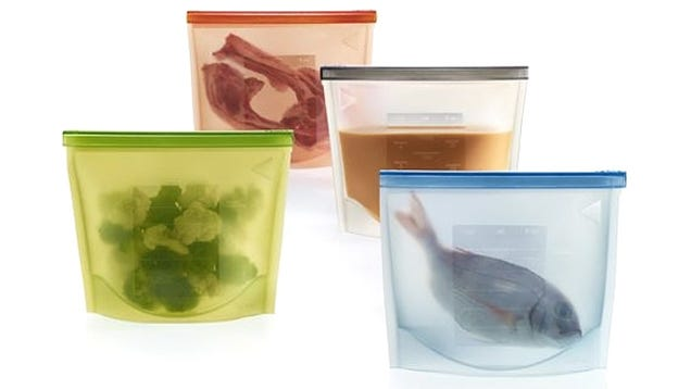 Silicone Storage Bags Will Make You Wish Every Meal Was Leftovers
