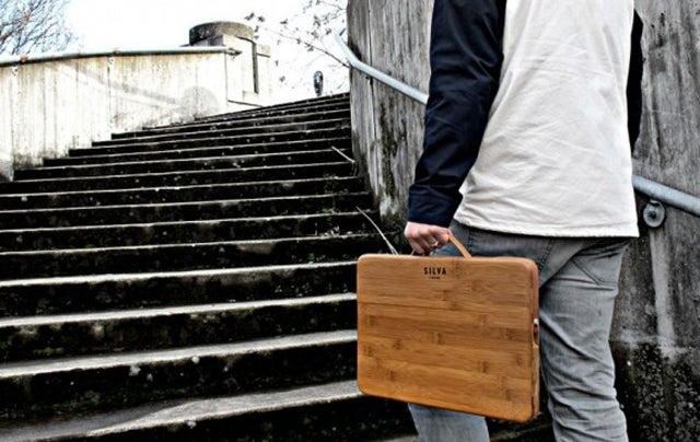 Show Your Green Credentials Off With a Bamboo Laptop Briefcase
