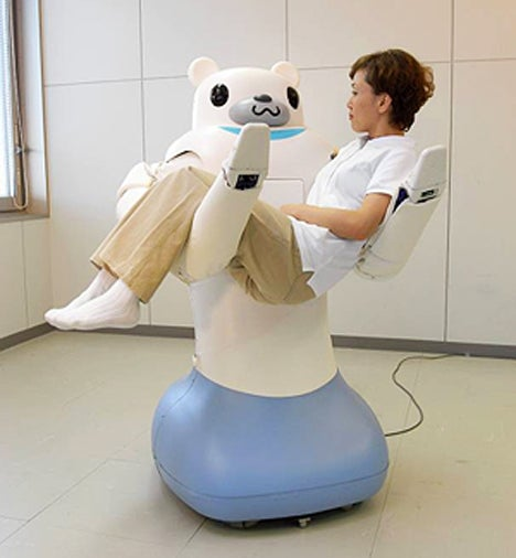 Robot Bear Holds You In Your Arms, Only to Rip You Apart Two Minutes Later