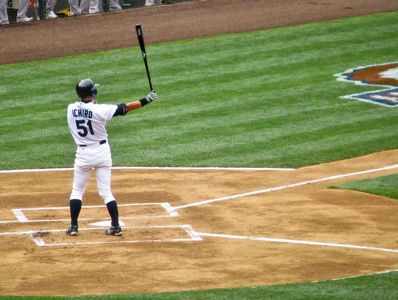 The Incomparable Ichiro Swings Through