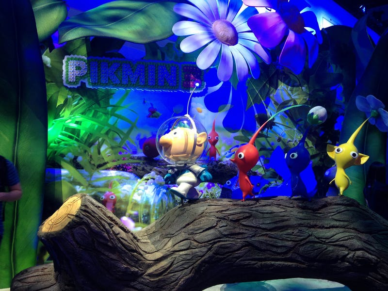 The Nintendo E3 Booth In Nine Photos, With Plastic Mascots