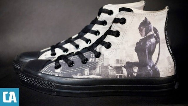 Kick Criminal Butt With These Custom Arkham City Sneaks