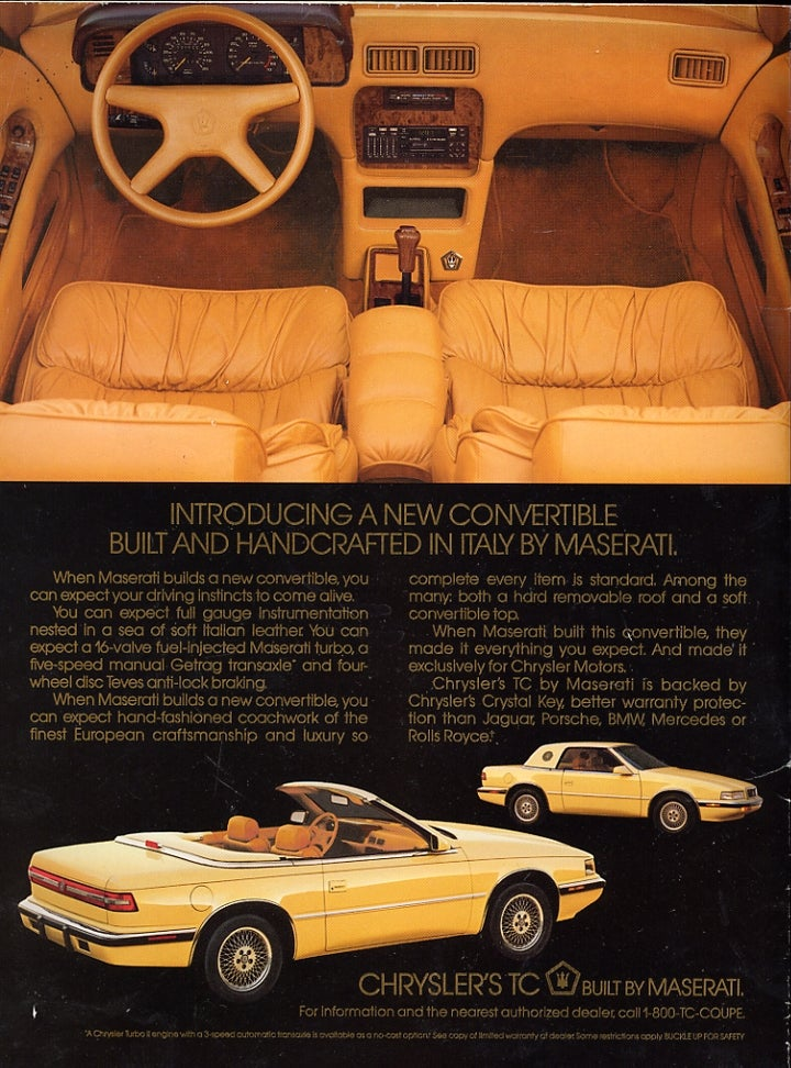 Requiem for a Drop-Top: The Chrysler convertible.