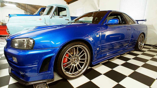 Paul Walker's Fast And The Furious Skyline For Sale For $1.37 Million