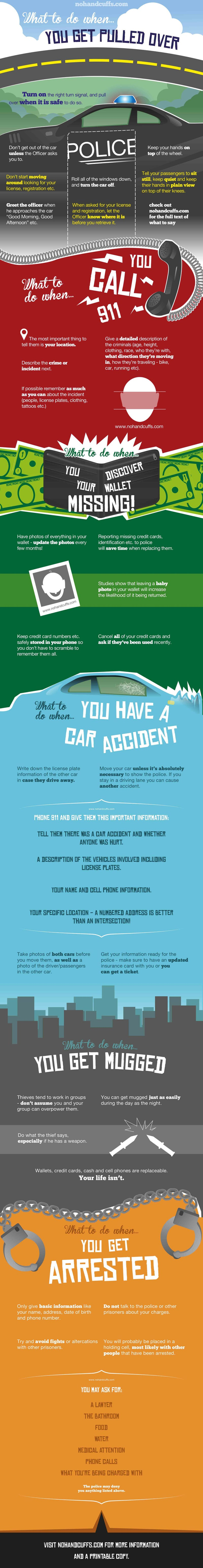 Put This Infographic in Your Wallet to Know What to Do When Bad Things Happen
