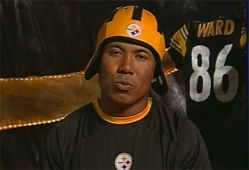 Hines Ward Slowly Turning Into Bill Cosby