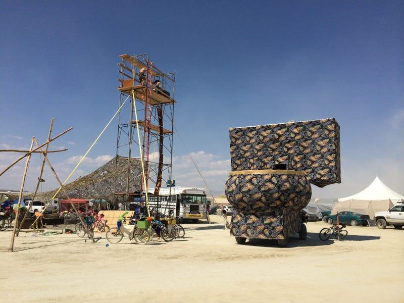 """Meet the """"Shit Queen of Burning Man,"""" Commander of 1,400 Porta-Potties"""