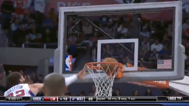 Very Short Debate: Was Blake Griffin's Dunk Last Night A Dunk?
