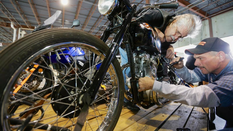 Nebraska Man Recovers Stolen Triumph Motorcycle After Almost 50 Years