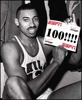 If Wilt's 100-Point Game Were Modernized