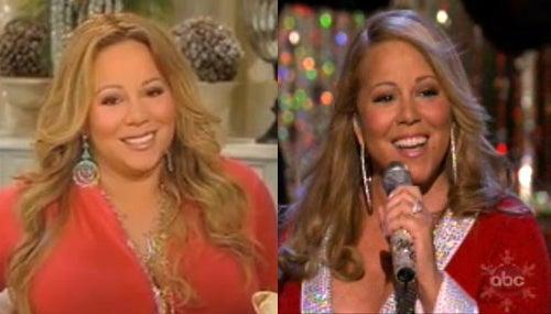 Mariah Carey Tweaks Camera Dimensions For Thinner Christmas Special