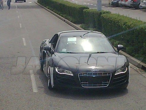 Audi R8 V10 Caught Testing On Nurburgring