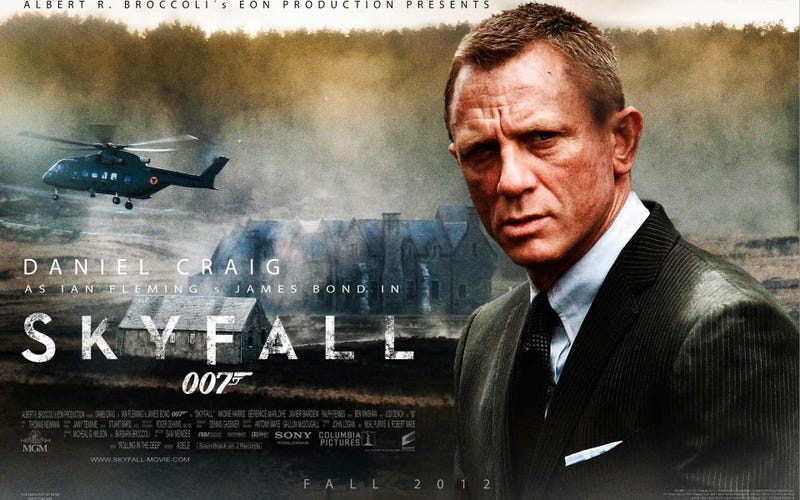 Skyfall unquestionably belongs to Dame Judi Dench
