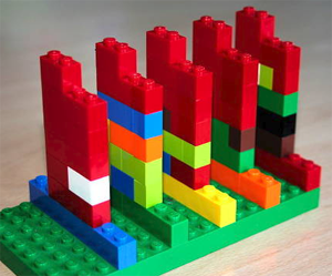 Track Your Time with LEGO Bricks