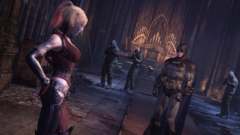 These Four New Batman: Arkham City Screens Are A Punch To the Face