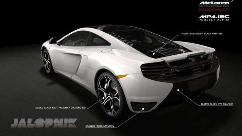 Leaked Brochure Scans Reveal McLaren's Project Alpha
