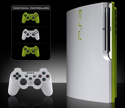The PS3 Slim Painted Just Like I Like It