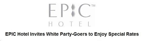 Attention, White Party-Goers