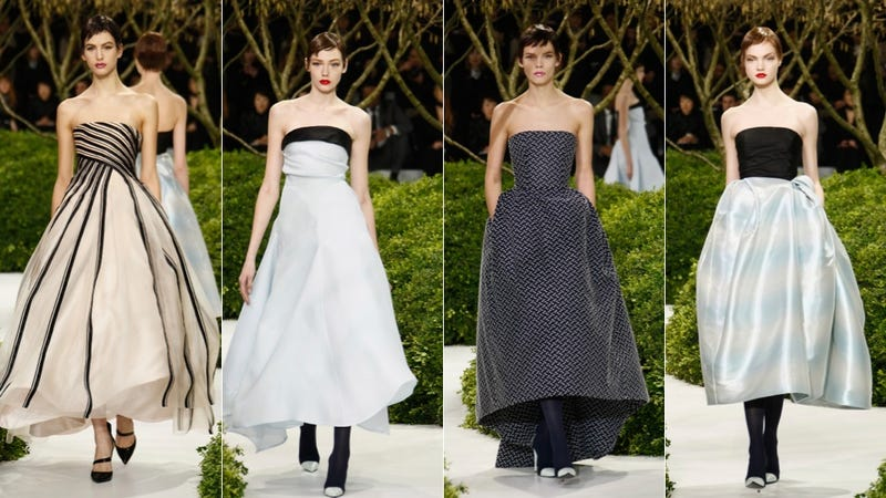 Dior Haute Couture, for the Gamine Garden Party Girl in You