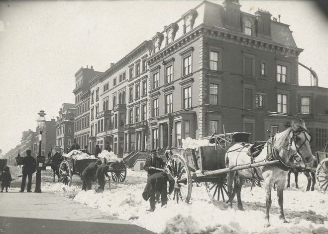 From Shovels To Plows: A History Of Snow Removal