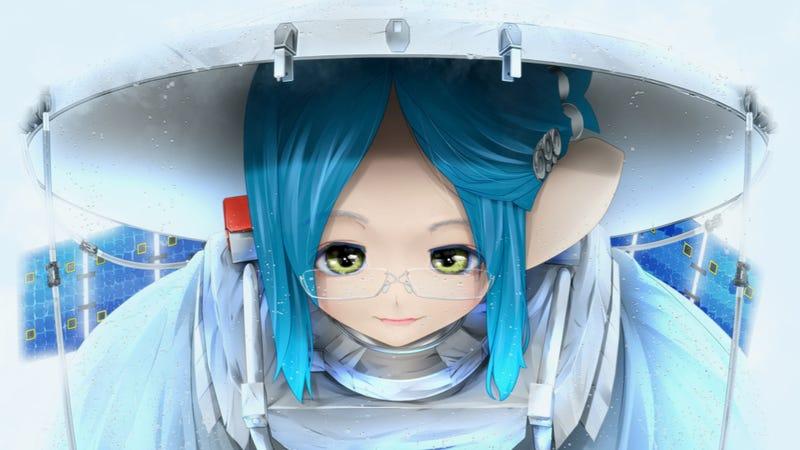 NASA Mission Has Anime Mascots (Anime Mascots?)