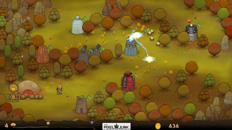 Moneysaver: Fallouts $4, Pixeljunk Monsters Deluxe, 400 Days, Humble