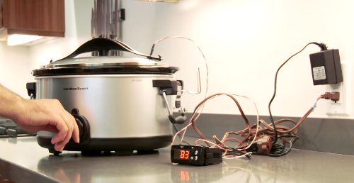 Hack a Slow Cooker into a Temperature-Controlled Sous Vide Rig