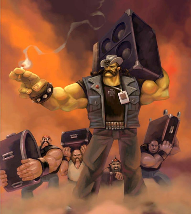 Brutal Legend's Star Didn't Always Look Like Jack Black