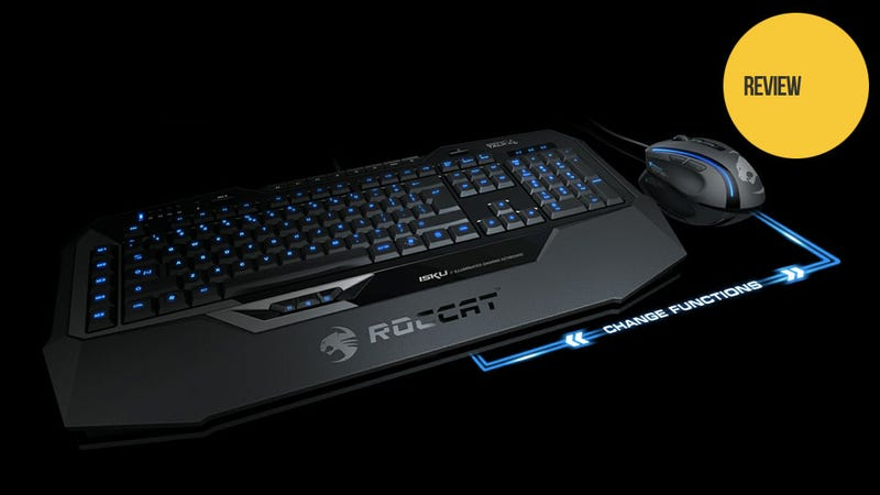 A Gaming Mouse and Keyboard Combo Made to Play Together