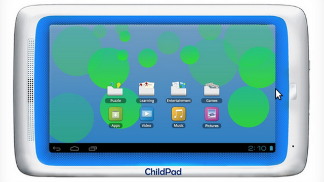 At $129, Here's a Tablet Your Kid Can Slobber On Without Concern