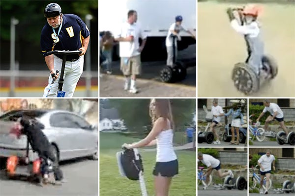 The Craziest Segway Videos