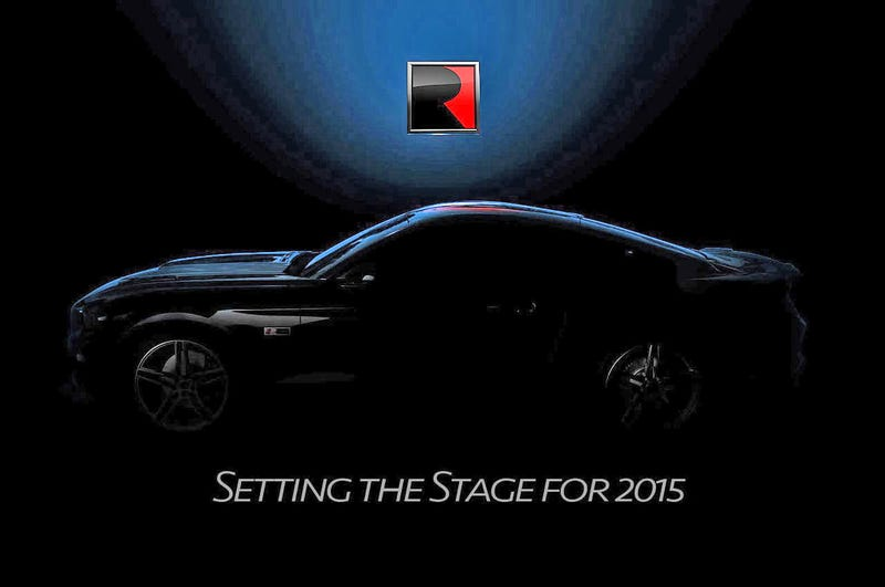 Roush Previews Their Inevitably Kickass 2015 Ford Mustang