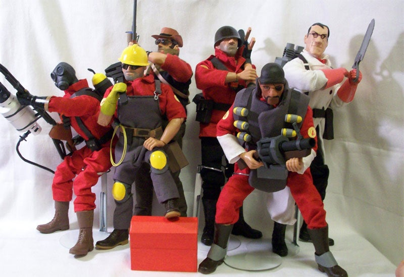 Team Fortress 2 Action Figures Are Credit To Creator