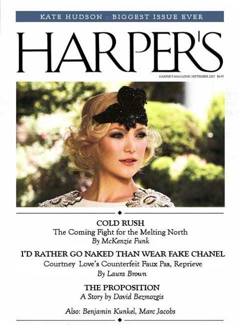 The 'Harper's Bazaar' Index: September 2007