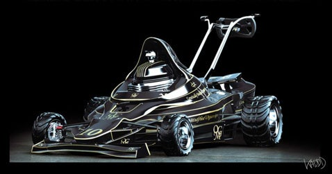 F1 Inspired Lawnmower: Yardwork Just Got a Lot Sexier