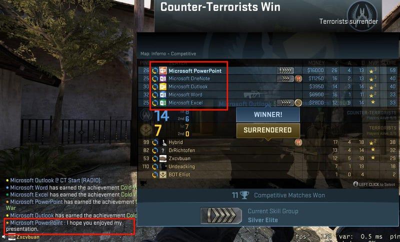 Well Played, Smartass Counter-Strike Team