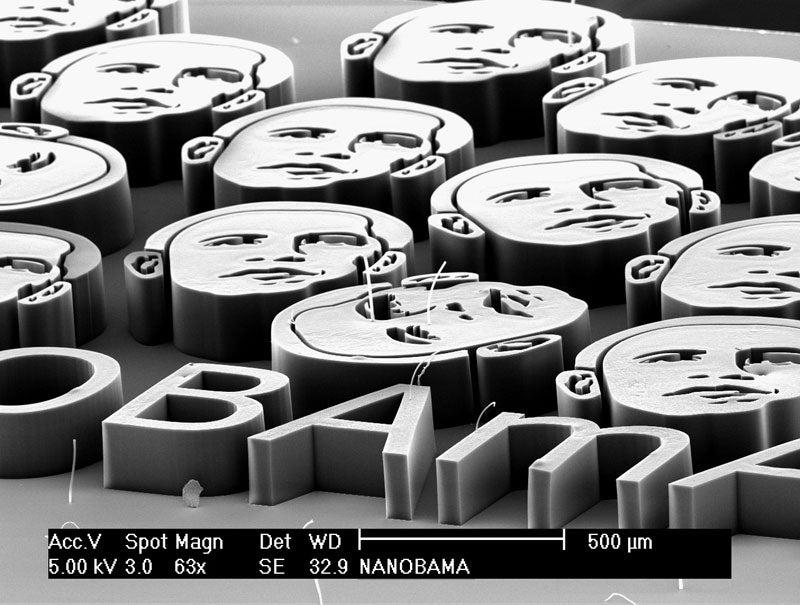 Nanobama: Barack Obama in Nanotubes