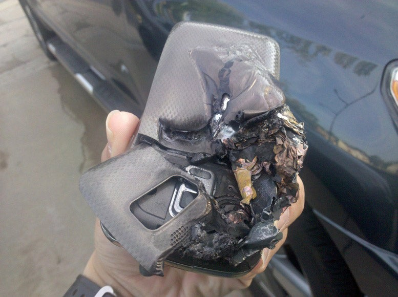 Exploded Phone